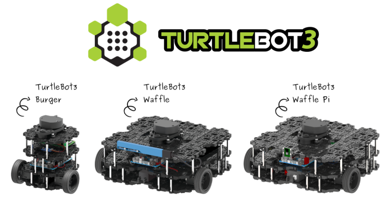 turtleBot3 with logo